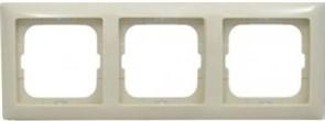 Рамка 3 поста, слоновая кость, ABB 2513-92-507 Basic 55