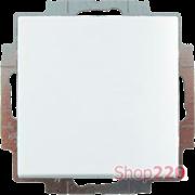 Кнопка без фиксации, белый, ABB 2026 UC-94-507 Basic 55