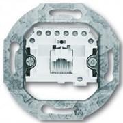 Розетка телефонная RJ11 (механизм), ABB 0213-507 Basic 55