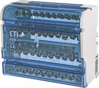 Блок распределительный на din-рейку 125А, 4 полюса, EDB-411 ETI 1102304