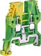 Клемма заземления 4 мм кв, желто-зеленый, ESC-TEO.4 ETI 3903067