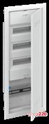 Комбинированный щит для слаботочки + 36 модулей для автоматов, встраиваемый, белая дверь, UK663CV ABB