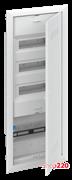 Комбинированный щит для слаботочки + 36 модулей для автоматов, встраиваемый, белая дверь, UK663CW ABB