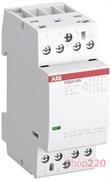 Модульный контактор 25А, 230В AC/DC, 4но, ABB ESB25-40N-06