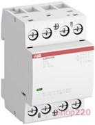 Модульный контактор 40А, 230В AC/DC, 4но, ABB ESB40-40N-06