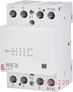 Контактор 63А, 220В, 4но RA 63-40 230V AC ETI 2464096