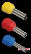 Наконечник гильза 4 мм кв, серый, IEK UGN10-004-04-09