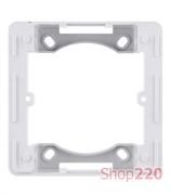 Адаптер для внешней установки, белый, Hager Lumina WL5410