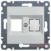 Корпус для механизма компьютерной розетки, белый, Hager Lumina WL2320