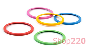 Комплект цветных колец для розетки Bachmann Pix