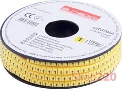 Маркер кабельный цифра 1, e.marker.stand.1.2.5.1 Enext s2037046