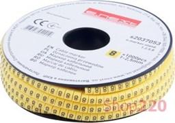 Маркер кабельный цифра 8, e.marker.stand.1.2.5.8 Enext s2037053