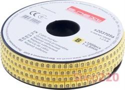 Маркер кабельный буква B, e.marker.stand.1.2.5.B Enext s2037056