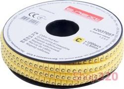 Маркер кабельный буква C, e.marker.stand.1.2.5.C Enext s2037057