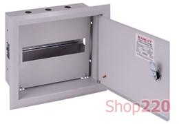 Щит металлический встраиваемый на 12 модулей, e.mbox.pro.w.12z ENEXT s0100208