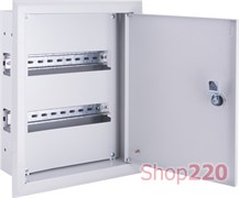 Щит металлический встраиваемый на 24 модуля, e.mbox.pro.w.24z ENEXT s0100210