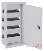 Щит металлический встраиваемый на 48 модулей, e.mbox.pro.w.48z ENEXT s0100212
