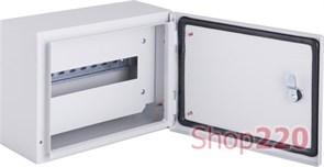 Щит металлический навесной на 12 модулей, IP54, e.mbox.pro.n.12z ENEXT s0100215