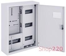 Щит для счетчика навесной + 27 модулей, e.mbox.pro.n.f3.27z Enext s0100223