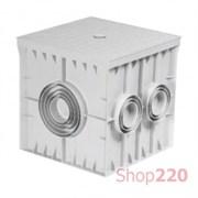 Колодец кабельный 300x300x300 мм, без крышки, ADAL PANO MD9101