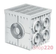 Колодец кабельный 550x550x500 мм с крышкой, ADAL PANO MD9120