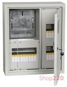 Щит для счетчика + 15 модулей для автоматов, навесной, ЩУРн-1/15зо-1 36 УХЛ3 ИЕК