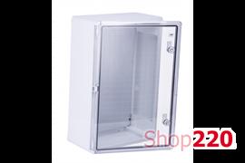 Шкаф 400x600x200мм ударопрочный IK10, влагозащищенный IP65, MD9028 Adal Pano