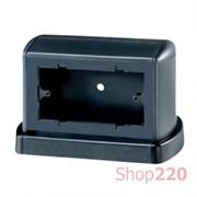 Башенка напольная для розеток TOR на 8 модулей, черный, ДКС 02090