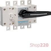 Выключатель нагрузки 160А корпусный, 3 фазы + ноль, HA452 Hager
