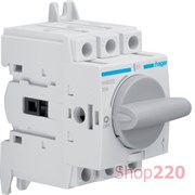 Выключатель нагрузки 20 А модульный, 3 фазы, HAB302 Hager