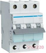 Автомат 40 А, 3 фазный, C, клеммы QuickConnect, MCS340 Hager