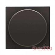 Диммер поворотный 100Вт для LED ламп, антрацит, Zenit ABB N2260.3 AN