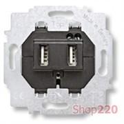 Розетка USB для зарядки, ABB 6472 U-500