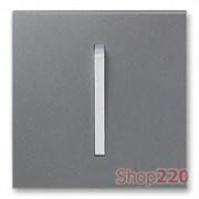 Клавиша выключателя, сталь/титан, Neo Tech ABB 3559M-A00651 73