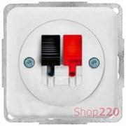 Розетка аудио HI-FI, белый, Polo Regina 13052201