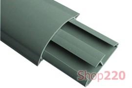 Короб напольный 50х12 мм, 2 отсека, серый, CSP-F 01032 DKC