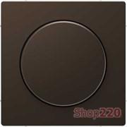 Накладка диммера поворотного, мокко (металл), Merten MTN5250-6052