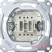 Выключатель 1-клавишный, Merten MTN3111-0000