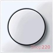 Накладка диммера поворотного, активный белый, Merten MTN5250-0325