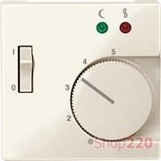 Накладка терморегулятора, бежевый, Merten MTN534944