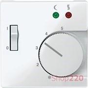 Накладка терморегулятора, полярно-белый, Merten MTN534919