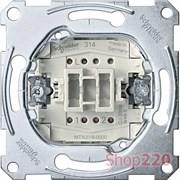 Выключатель проходной 1-клавишный, Merten MTN3116-0000