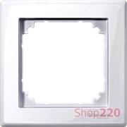 Рамка 1 пост, активный белый, Merten M-SMART MTN478125