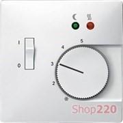 Накладка терморегулятора, белый, Merten MTN537519