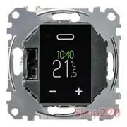 Терморегулятор сенсорный для теплого пола, Merten MTN5776-0000