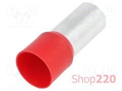 Наконечник-гильза 95 мм кв, красный, bm00520
