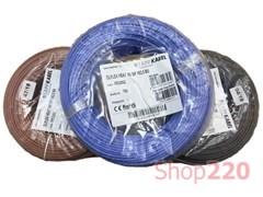 Термостойкий провод 1x0,5 мм кв, коричневый (ГОСТ), OLFLEX HEAT 180 SiF Lapp Kabel 48003