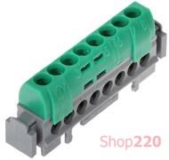 Клеммный блок 8х16 мм кв, зеленый, 04832 Legrand