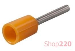 Наконечник-гильза 0,5 мм кв, оранжевый, Е0508 IEK UGN10-D05-02-08