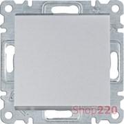 Выключатель проходной, серебристый, Lumina WL0022 Hager
